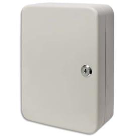 NEUTRE Armoire à clés capacité 30 clés Grise - Dimensions : L16 x H20 x P8 cm photo du produit