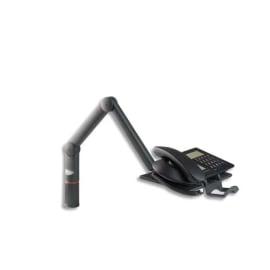 NOVUS Bras téléphone Talkmaster pivotant et articulé Noir 710+0005 photo du produit