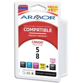 ARMOR Pack 4+1 canon (1 x pgi5 free) b10152r1 photo du produit