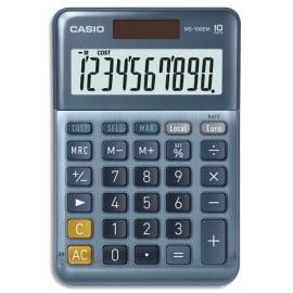 CASIO Calculatrice de bureau 10 chiffres CSCALMS-100EM photo du produit
