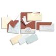 CLAIREFONTAINE Paquet de 25 cartes 210g POLLEN 11x15,5cm. Coloris Blanc photo du produit