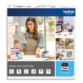 BROTHER Imprimante d'étiquettes photo couleur VC-500WCR packaging loisir créatif photo du produit