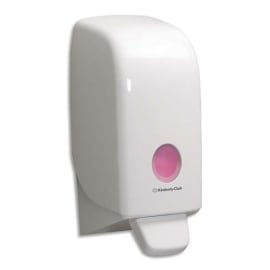 AQUARIUS Distributeur de savon mousse - Dimensions L23,5 x H11,4 x P11,6 cm coloris Blanc photo du produit