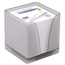 QUO VADIS Bloc cube Blanc 9x9x8cm 610 feuilles encollées 80g PEFC photo du produit