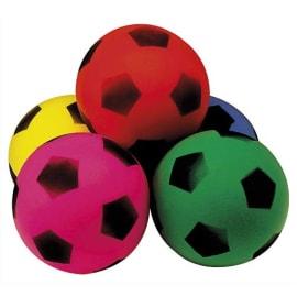 Balle en mousse diamètre 12 cm, 40 g, coloris assortis photo du produit