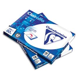 CLAIREFONTAINE Pack de 200 feuilles papier Blanc CLAIRALFA 80 grammes format A4 1979HOC photo du produit