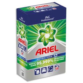 ARIEL Lessive poudre Professional Antibacteria élimination dès 40 °C de 99,999 % des bactéries, 120 doses photo du produit