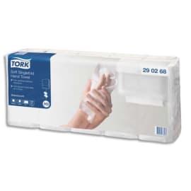 TORK Colis de 5 Paquets de 200 Essuie-mains advanced 2 plis en V motif Ft 23 x 25 cm pour TORK H3 photo du produit