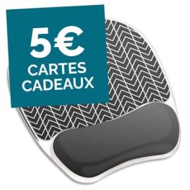 FELLOWES Tapis de souris repose poignet Gel Chevrons 9653401 photo du produit