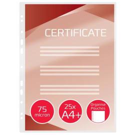 GBC Paquet de 25 Pochettes de plastification GBC A4+, 2 x 75 microns, brillantes 3747515 photo du produit