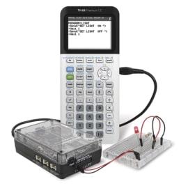 TEXAS Ti-Innovator™ Hub Kit pr TI83 Premium+Cx Cas:chargeur,câble USBA/microB, USBA/Bmini,USB A std/Bmini photo du produit