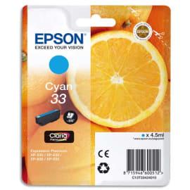 EPSON Cartouche Jet d'encre Cyan C13T33424010 photo du produit