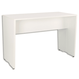 GAUTIER OFFICE Table haute connectée Yes Blanc, livré avec top access et 2 boîtiers L160 x H105 x P80 cm photo du produit