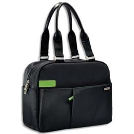LEITZ Sac Inch Shopper pour ordinateur 13.3 poche +pochette - Dimensions : L38 x H28 x P12 cm Noir photo du produit