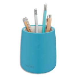 LEITZ Pot à crayons COSY. Dimensions : L9,2 x H13,8 x P9,2 cm. Coloris bleu. photo du produit