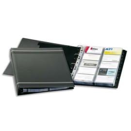 DURABLE Porte-cartes Visifix A4 pour 400 cartes de visite L90 x H57 mm - 12 touches A-Z - Anthracite photo du produit