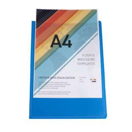EXACOMPTA Protège document personnalisable PP KREACOVER 80 vues assortis photo du produit