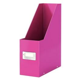 LEITZ Porte-revues CLICK & STORE - Dimensions : L103xH330xP 253mm - Coloris : Rose Wow photo du produit