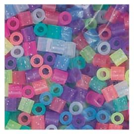 PERLOU Sachet de 3000 perles à repasser pailletées assorties Perlou photo du produit