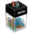 WONDAY Distributeur magnétique de trombones fourni avec 50 trombones coloris assortis photo du produit