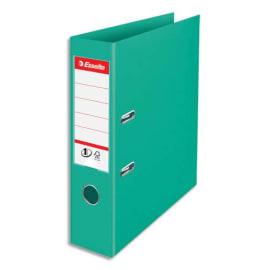 ESSELTE Classeur à levier Colour ice N1 Power en polypropylène, dos de 7,5 cm. Coloris Vert photo du produit