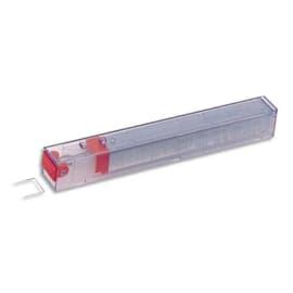 LEITZ Boîte de 5 recharges 210 agrafes 26/12 Rouge photo du produit