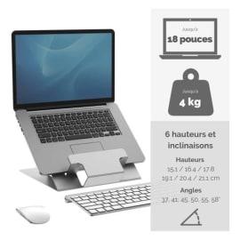 FELLOWES Lot d'1 support ordinateur portable Hylyft + 1 souris Penguin taille M photo du produit