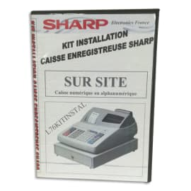 SHARP Kit installation (inclus mise en service sur site + aide) L76KITINSTAL photo du produit