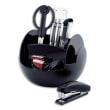 PAVO Pot multifonctions rotatif Noir, 6 cases, livré avec 9 produits - Diamètre 15 cm, hauteur 11 cm photo du produit