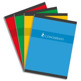 CONQUERANT C7 Cahier reliure brochure 24x32cm 192 pages 70g grands carreaux Séyès photo du produit