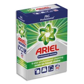 ARIEL Pro Baril de 90 doses de lessive en poudre tachetée, agit dès 30 degrés, parfum frais photo du produit