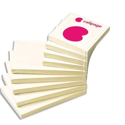 CALIPAGE Bloc repositionnable 100 feuilles Jaunes 76x127mm photo du produit Principale L