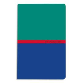 CONQUERANT C7 Carnet reliure piqûre 11x17 cm 96 pages petits carreaux 5x5 papier 70g photo du produit