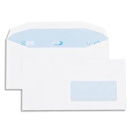 GPV Boîte de 1000 enveloppes 115x225mm Blanches fenêtre 45x100 80g photo du produit