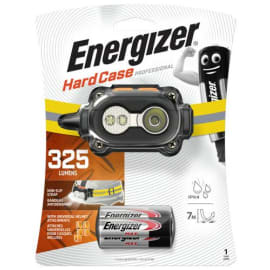 ENERGIZER Lampe front 5 led Noir s'adapt sur casque, auto 25h portée 80m 3 types d'attaches 7638900375718 photo du produit