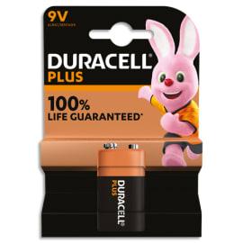 DURACELL Blister de 1 pile PLUS 100% 9V 5000394142190 photo du produit