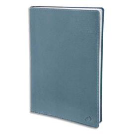 QUO VADIS Agenda Toscana Exécutif 1 semaine sur 2 pages, papier blanc, format 16 x 16 cm bleu aqua photo du produit