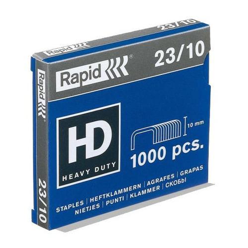 RAPID Agrafes Nº23/10 en boîte de 1000 photo du produit Principale L
