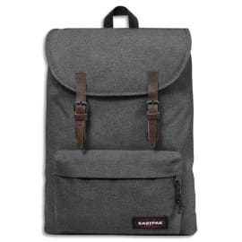 EASTPAK Sac à dos BLACK DENIM 21 litres 1 compartiment. Coloris Gris anthracite. photo du produit