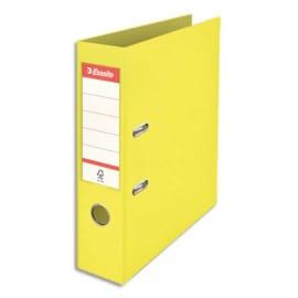 ESSELTE Classeur à levier Colour ice Standard en polypropylène, dos de 7,5 cm. Coloris Jaune photo du produit