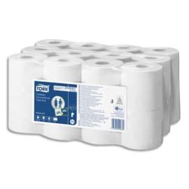 TORK Paquet de 24 rouleaux Papier toilette Traditionnel sans mandrin Advanced 2plis 400 feuilles Ecolabel photo du produit