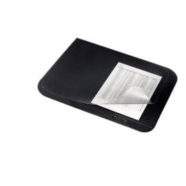 LEITZ Sous-mains Leitz Plus avec rabat en PVC. Dimensions (lxh) : 53 x 40 cm. Coloris Noir photo du produit