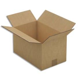Paquet de 15 caisses américaines en carton brun double cannelure - Dim. : L50 x H31 x P31 cm photo du produit