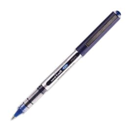UNI-BALL Stylo roller pointe métal ultra-fine encre liquide Bleue UNI-MITSUBISHI UNI-BALL EYE UB 150 photo du produit