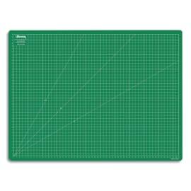 WONDAY Plaque de découpe verte 600x450x3mm. Résistante à la coupe, surface quadrillée photo du produit