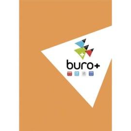 BURO PLUS Bloc de bureau 14,8x21 200 pages détachables petits carreaux 60g. Couverture vernie photo du produit