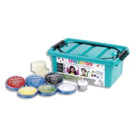 LEFRANC & BOURGEOIS Malette de maquillage SNAZAROO 6 fard 18ml, 3 pinceaux, 2 éponges, 1 gel arg, 1 guide photo du produit