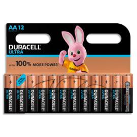 DURACELL Piles Ultra AA x12 5000394004030 photo du produit