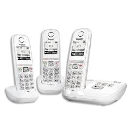 GIGASET Téléphone AS470A avec répondeur TRIO Blanc L36852H2529N112 photo du produit