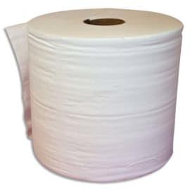 Lot de 2 Bobine d'essuyage 2 plis 1000 formats 30 x 21 cm - L300 m, bobine D25 cm Blanc Eco photo du produit